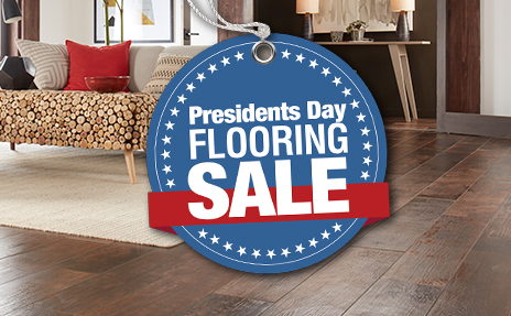 Presidents Day Flooring Sale